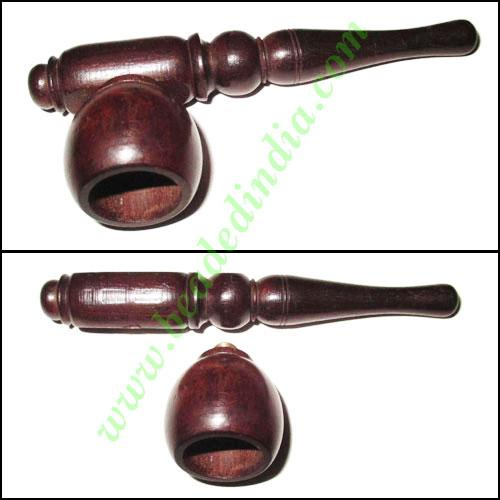 Handmade rosewood smoking pipe, size : 4 inch pipe - Handmade rosewood smoking pipe, size : 4 inch pipe