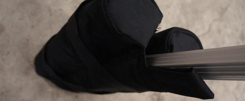 Sac de lestage en polyester à remplir - Accessoires tentes pliantes