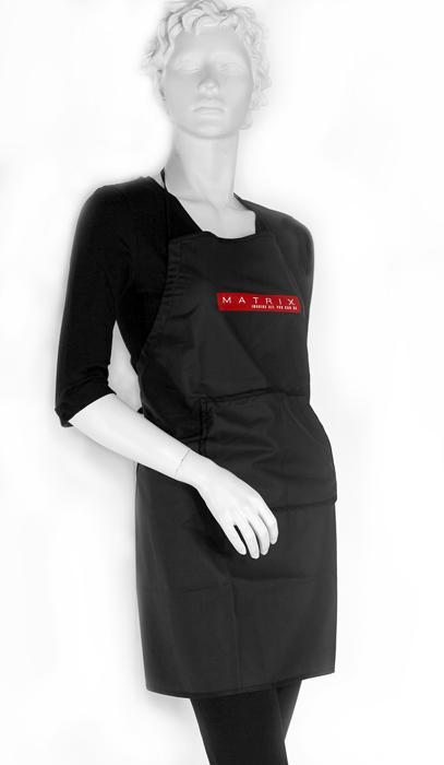 Hairdressing coloration apron -