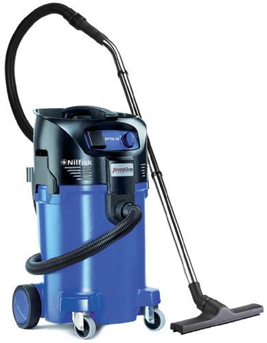 NILFISK ATTIX 50 - Aspirateurs eau et poussière monophasés - Aspirateurs industriels eau & poussière. Cuves 50 litres