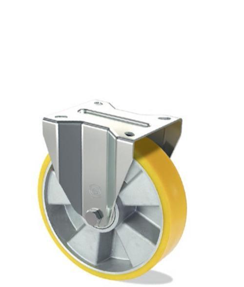 Ruota in poliuretano con nucleo in alluminio - Serie pesante