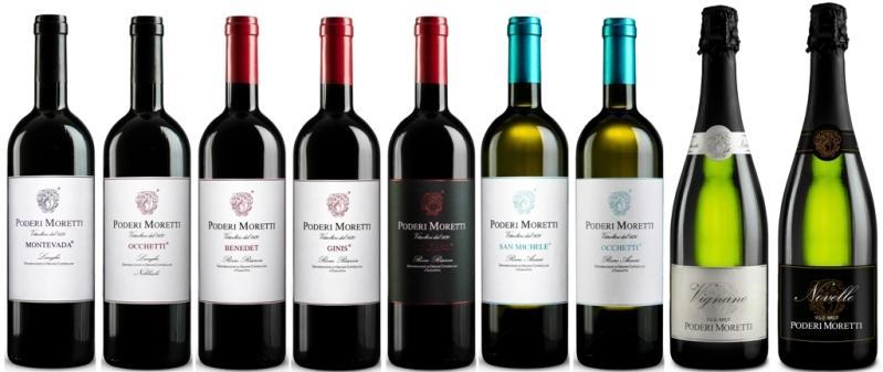 Poderi Moretti selezioni vini - i migliori vini di Alba Langhe e Roero - Area Unesco