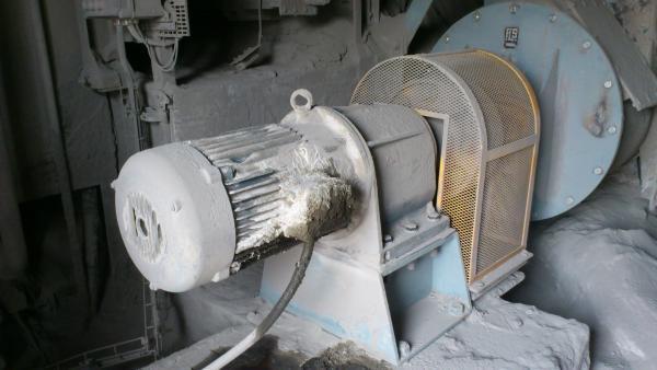 Dépose motoréducteur Bauer - Maintenance électro-mécanique sur site
