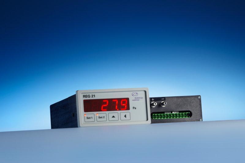 Differenzdruck-Messumformer REG 21 - Druckmessung und Druckregelung in einem Gerät