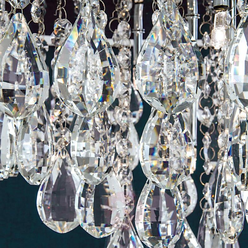 Helene Sparkling Ceiling Light with Lead Crystal - Ceiling Lights