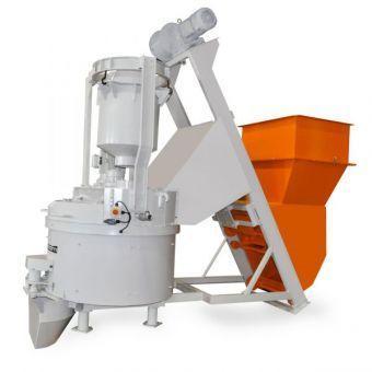 Equipment for concrete plants - Mixer MP 7.5