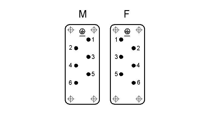 Industrial connector inserts - Industrial connectors, Inserts for rectangular connectors and high currents