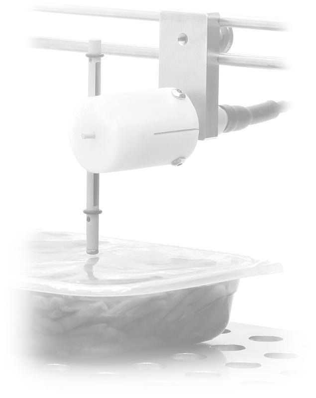 Sonde de déformation AXIprobe - Mesure des mouvements des barquettes, opercules, sachets et boîtes