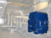 Alternateurs pour turbines à vapeur et à gaz - null