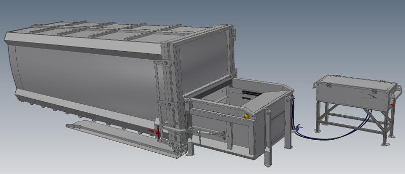 Stationary Compactors With Replaceable Containers - Our products