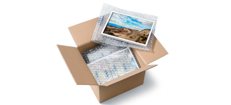 Flexible Protective Packaging - AIRplus® TRANSFORMS AIR INTO THE OPTIMAL PROTECTIVE PACKAGING