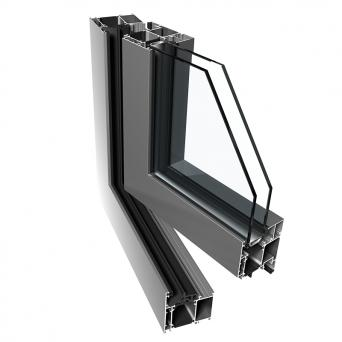 Ponzio PE 68 Fenster - Aluminiumfenster