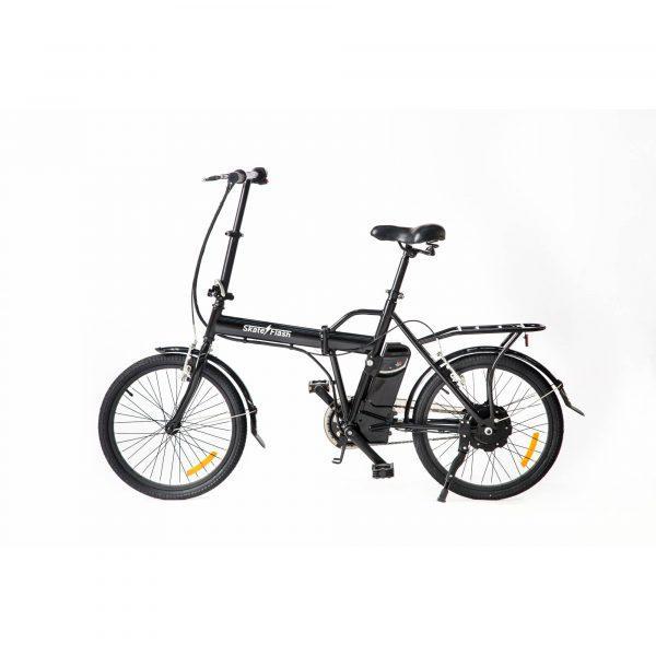 Skateflash Folding E-Bike Black - Bicicletas Eléctricas