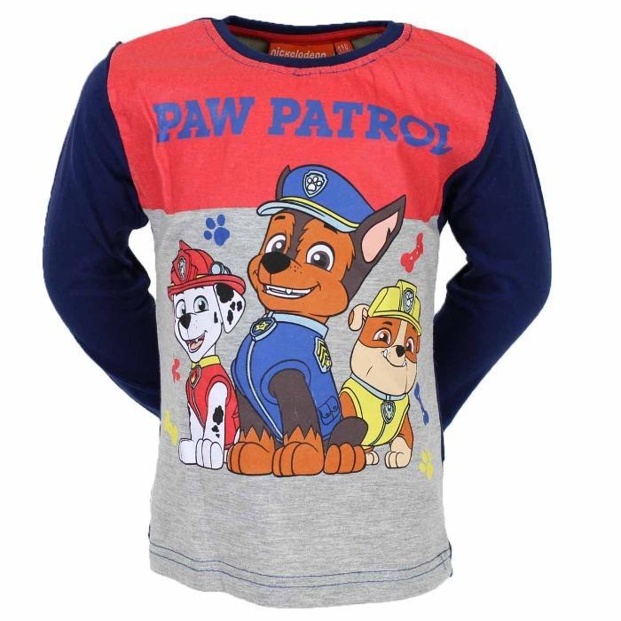 Grossista Licencia Maglietta a maniche lunghe Paw Patrol  - Maglietta a maniche lunghe