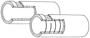 Solvent hose NBR 2 - Chemical hoses