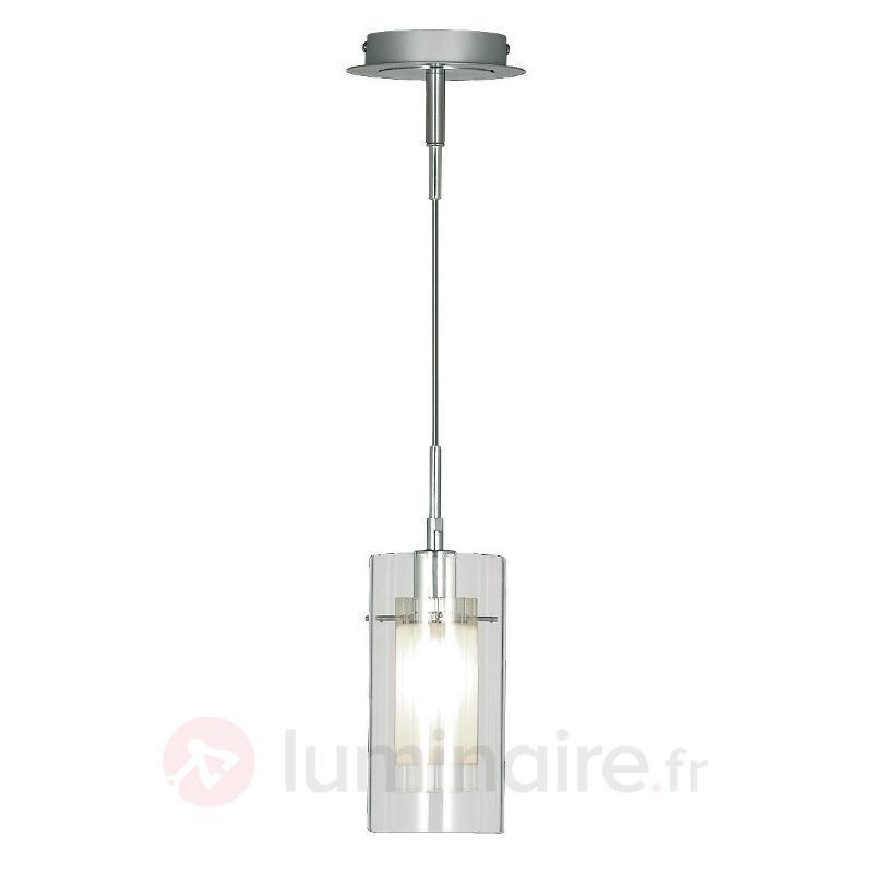 Suspension décorative DUO 1 à 1 lampe - Suspensions en verre