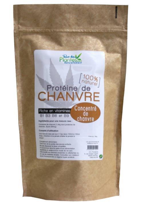 Protéine de chanvre 300g