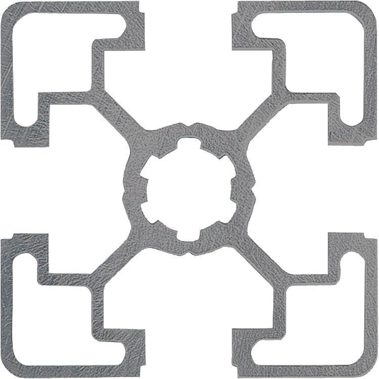 Profilés aluminium 45x45 légers Type B - Profilés aluminium
