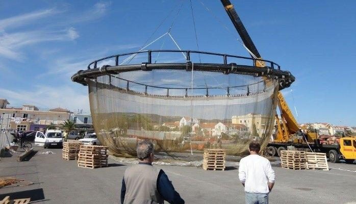 Brass Wires - Brass wire used to manufacture fish farm cage mesh