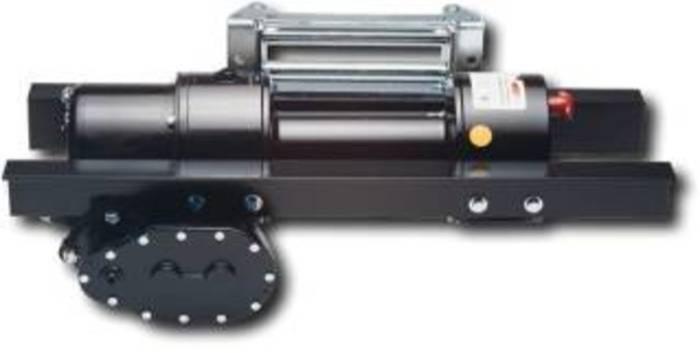 Schneckenradgetriebe-Seilwinden - Ausführung Zugkraft 2100 bzw. 3600 kg in der ersten Seillage