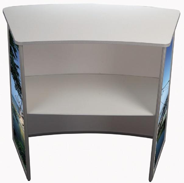 Counter Displays - Pupitre d'exposition convex
