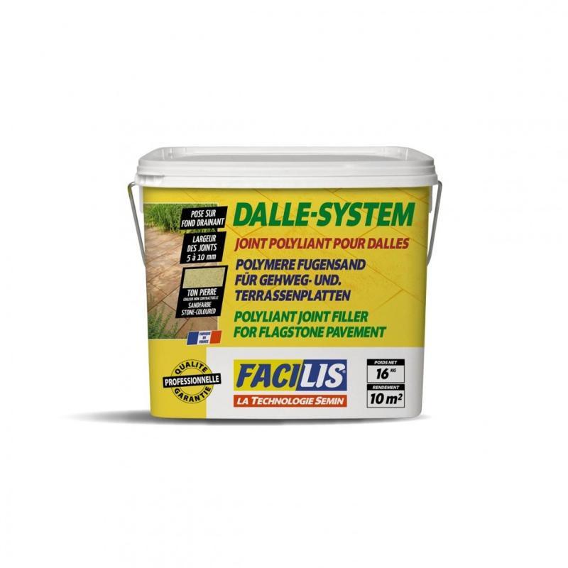 DALLE SYSTEM - Joint polyliant pour dalles