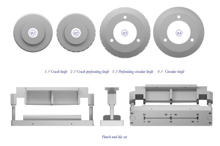 BLADES FOR CHEESE PACKAGING, FOOD TRAYS, … - FOOD PROCESSING CUTTING BLADES