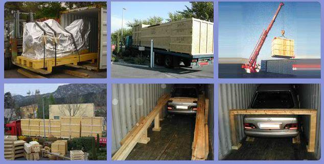 Logistique d'exportation -