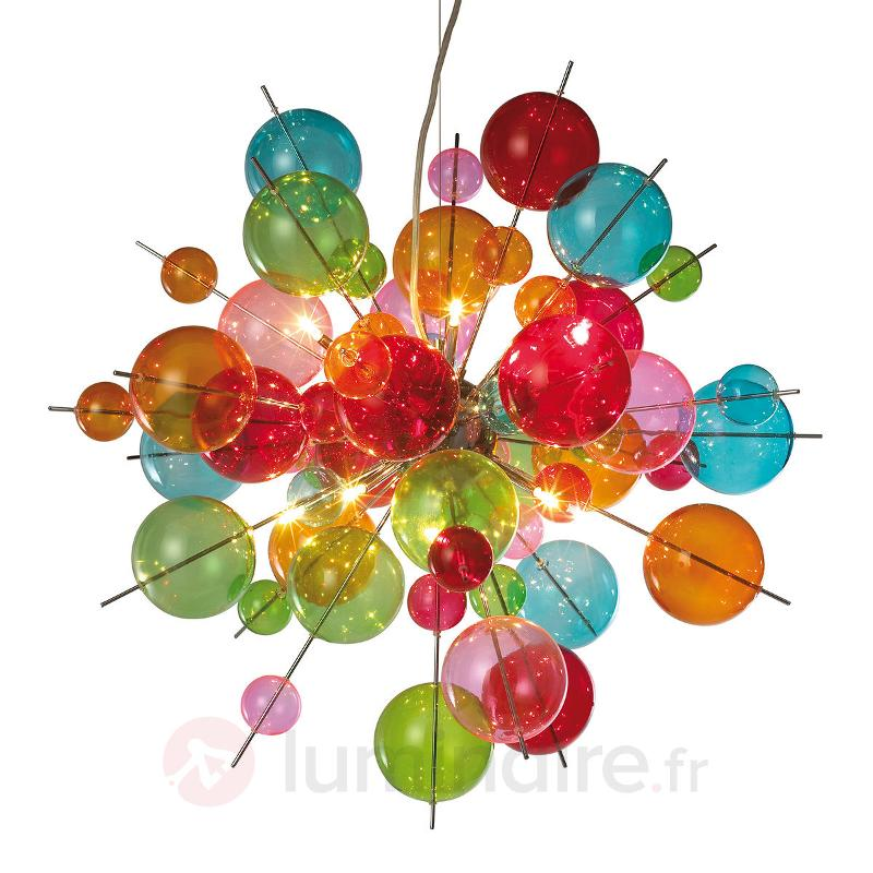 Suspension en verre multicolore Aurinia - Suspensions en verre
