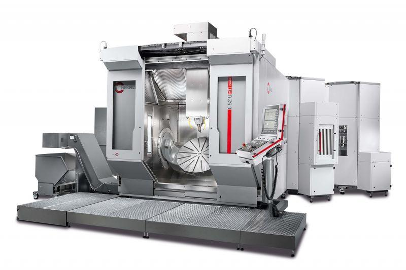 Machining centre C 52 - Flexible multitalent - large working area, minimum footprint - milling & turning