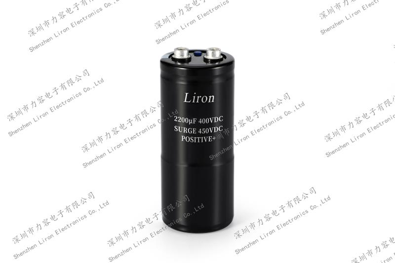 6800uf 400V 2000H 85 centigrade screw type aluminum electrolytic capacitor - HOT SELLING