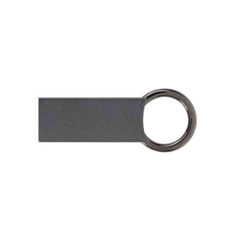 Porte-clef anthracite mat/vernis - Porte-clés métal