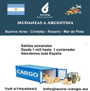 Mudanzas a Argentina - Desde España