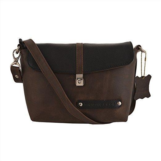 Shoulder Bag Chocolate Black