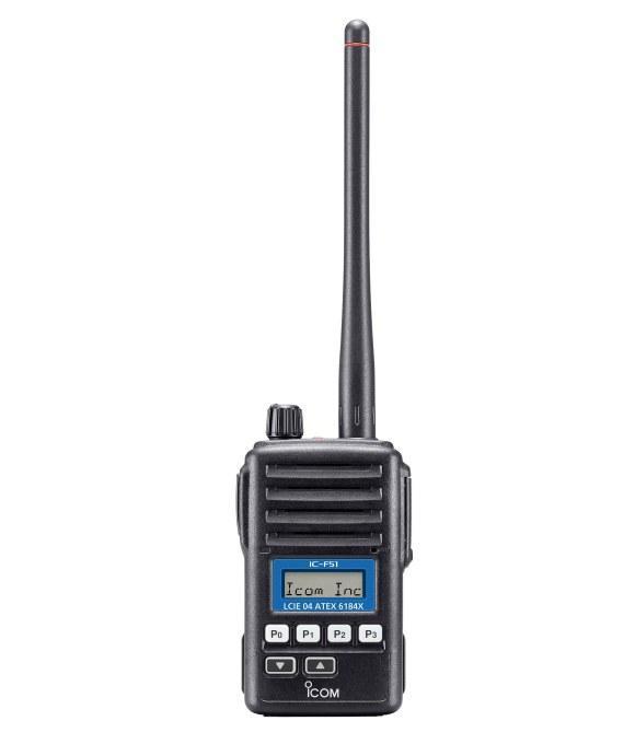 Radio ATEX  - Icom Rádio ATEX