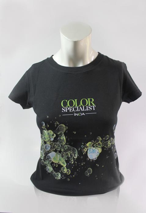 Camiseta para peluquería y estética -