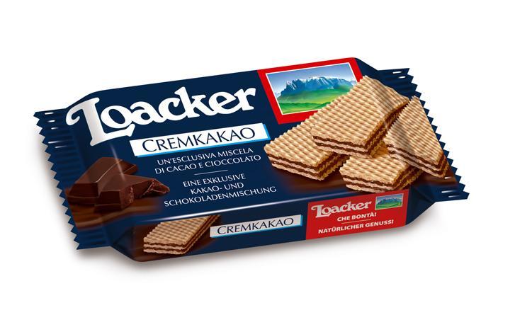 Wafers Cremkakao 45 g x 25 - Alimentare - Biscotti e dolciumi