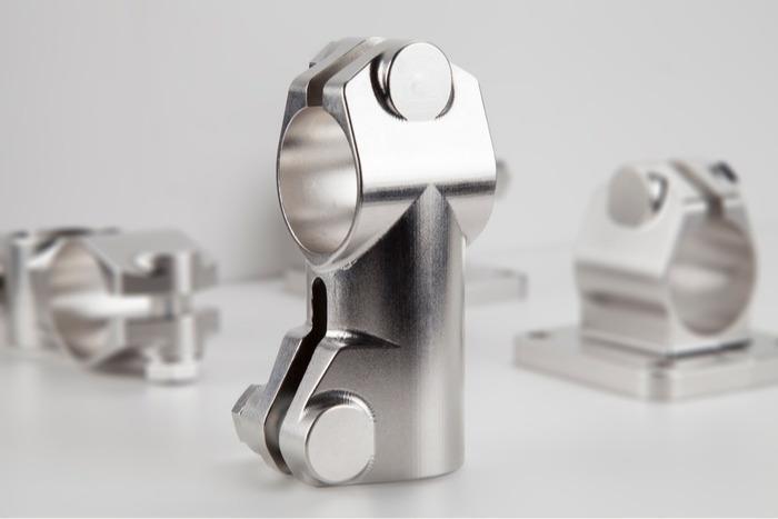Robust Clamps - Uniones altamente resistentes - de acero inoxidable para tubos
