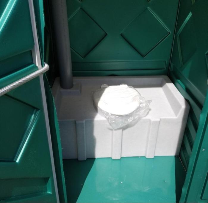 PORTABLE TOILET CABIN  - «ECOMARKA LOGO В»
