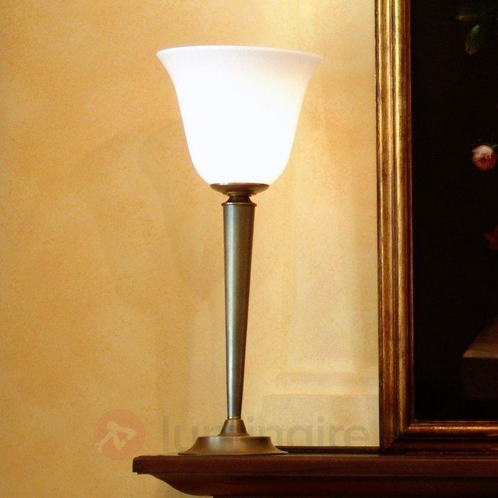 Lampe à poser élégante INDIRA laiton - Lampes à poser classiques, antiques