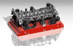 Palette pour pièce automobile - Montage usinage pièces auto