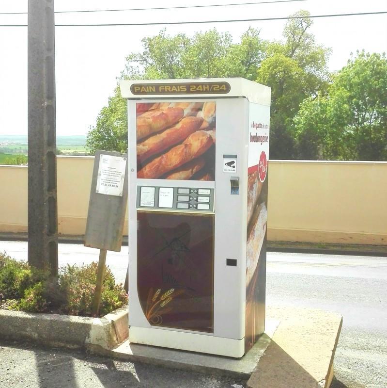 Distributeur 60 baguettes  - Option viennoiseries