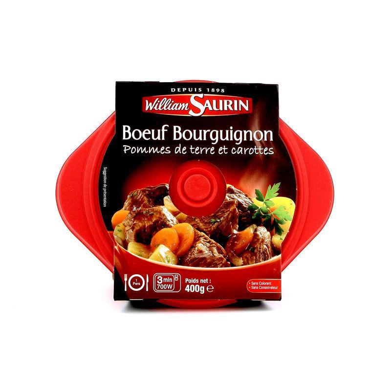 Bœuf Bourguignon 400g - WILLIAM SAURIN - Bœuf Bourguignon 400g - WILLIAM SAURIN