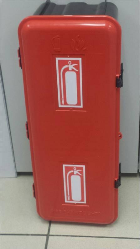 ARMARIO EXTINTOR RESISTANT - Armario para extintor de 6-9kg fabricado completamente en Polipropileno