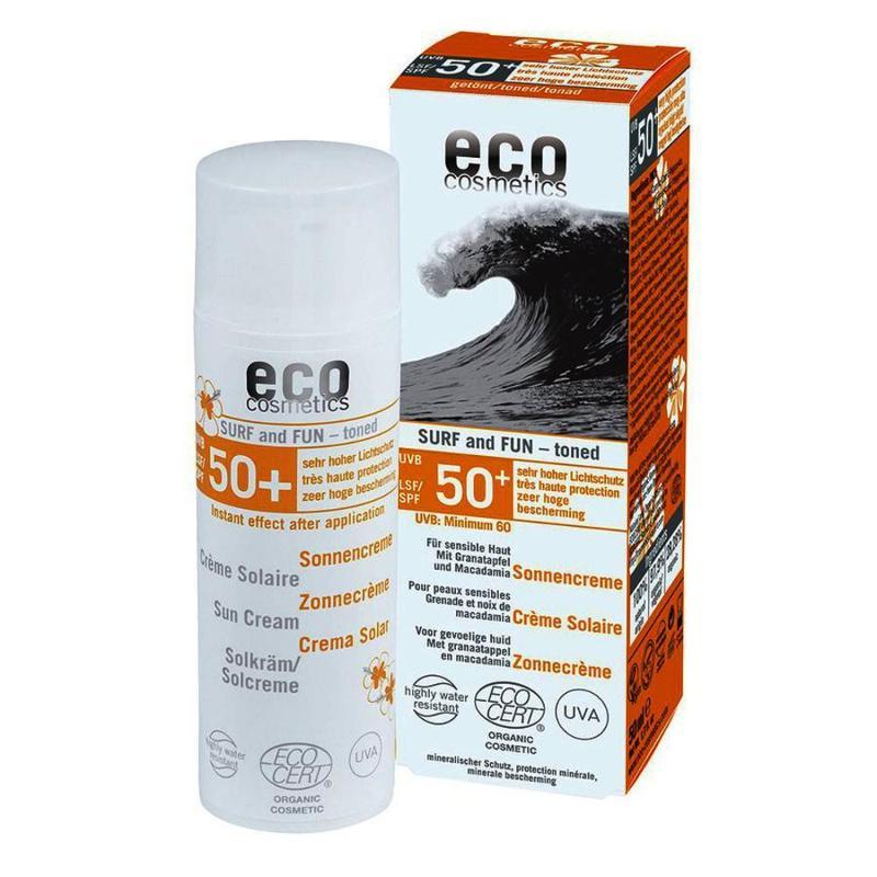 ECO Sonnencreme LSF 50+ getönt Surf & Fun 50ml mit... - null