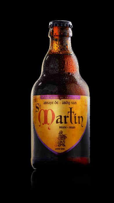 Bière d'abbaye - Abbaye de St Martin Brune