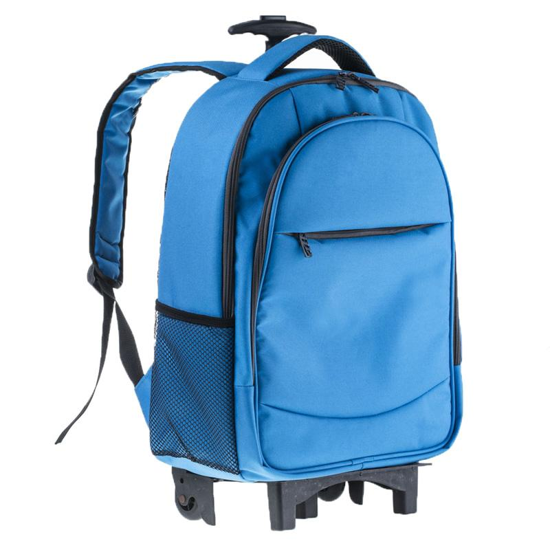 Trolley Removable Backpack Laptop Bag - Rolling, Removable, Laptop Bag