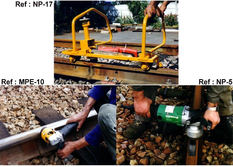 Meuleuses de rail électriques - null