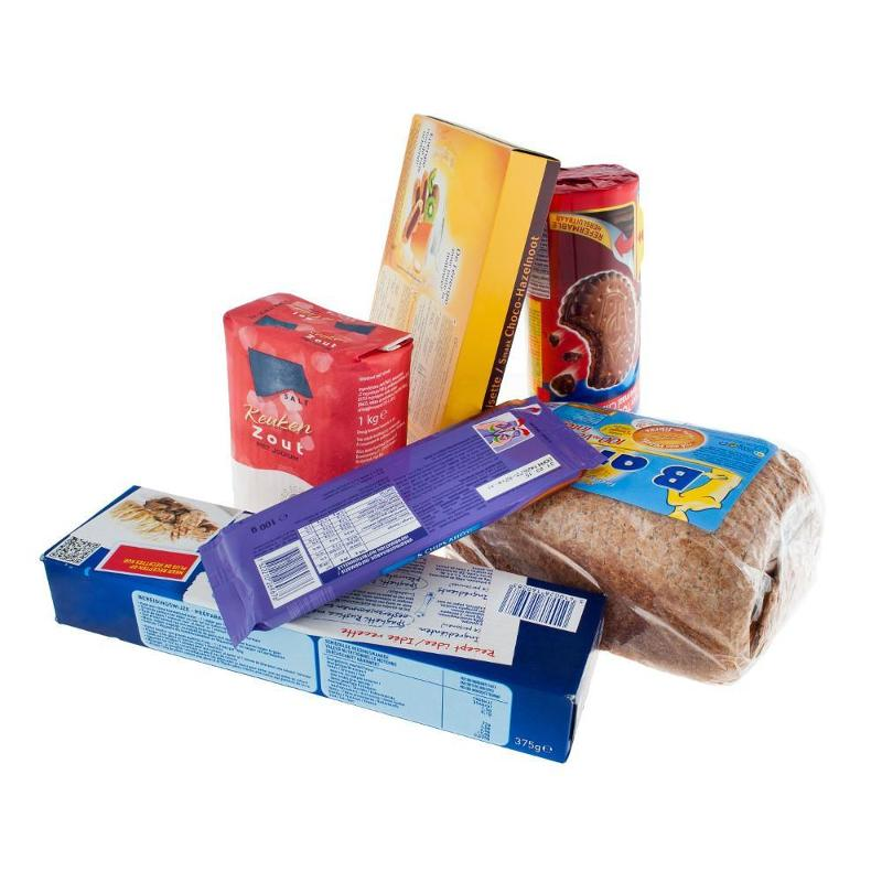 Stretch films for pallets of food products