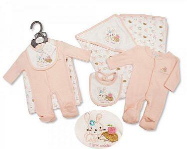 Premature Baby Girls 3 Pieces Set - I Love Cuddles -